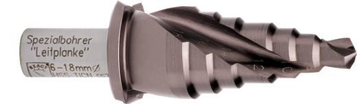 HSS Stufenbohrer 6 - 18 mm TiCN Exact 07042 Gesamtlänge 67 mm 3-Flächenschaft 1 St.
