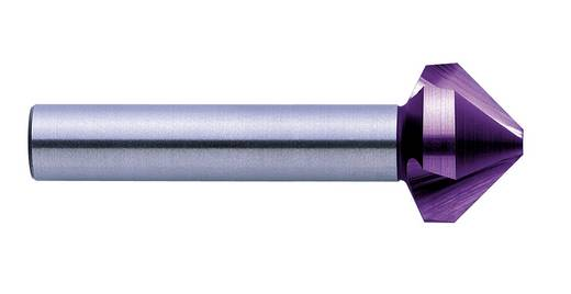 Kegelsenker-Set 6teilig 6.3 mm, 8.3 mm, 10.4 mm, 12.4 mm, 16.5 mm, 20.5 mm HSS TiN, TiAIN Exact 09029 Zylinderschaft 1