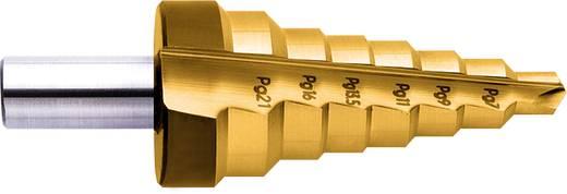 HSS Stufenbohrer PG7 - PG21, 12.5 - 30.5 mm TiN Exact 15302 Gesamtlänge 85 mm 1 St.