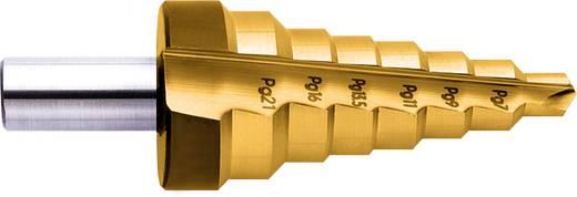 HSS Stufenbohrer PG7 - PG29, 12.5 - 37 mm TiN Exact 15303 Gesamtlänge 92 mm Zylinderschaft 1 St.