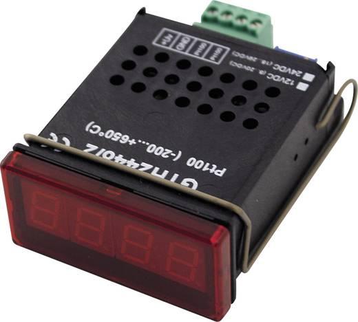 Greisinger GTH2448/1 LED-Anzeige GTH 2448/1 NiCr-Ni, Typ K -50 bis +1150 °C Einbaumaße 45 x 22 mm Kalibriert nach ISO