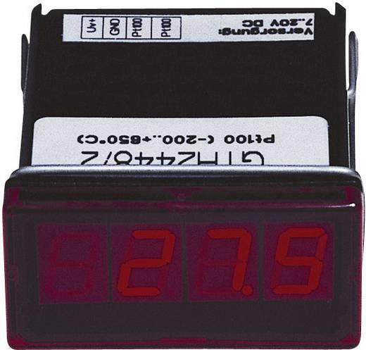 Greisinger GTH2448/3 LED-Anzeige GTH 2448/3Pt100, 2-Leiter -60 bis +199.9 °C Einbaumaße 45 x 22 mm