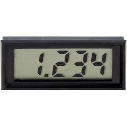 Panelové LCD měřidlo Voltcraft 70004, 60 x 24 mm, +-199,9 mV
