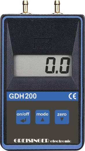 Druck-Messgerät Greisinger GDH 200-13 Luftdruck 0 - 1.999 bar Kalibriert nach DAkkS