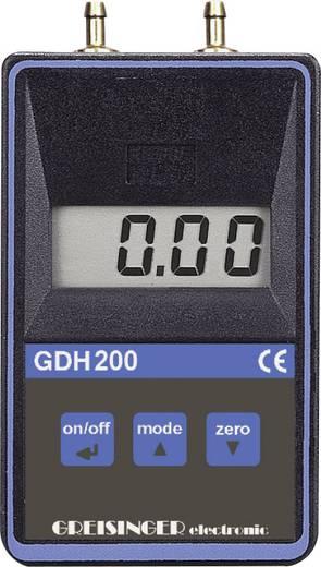 Druck-Messgerät Greisinger GDH 200-07 Luftdruck 0 - 0.1999 bar Kalibriert nach ISO