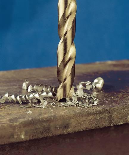 HSS Metall-Spiralbohrer 5 mm Exact 32356 Gesamtlänge 86 mm geschliffen, Cobalt DIN 338 Zylinderschaft 10 St.