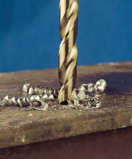 Exact 32447 HSS-E Metall-Spiralbohrer 13.5 mm Gesamtlänge 160 mm geschliffen, Cobalt DIN 338 Zylinderschaft 5 St.