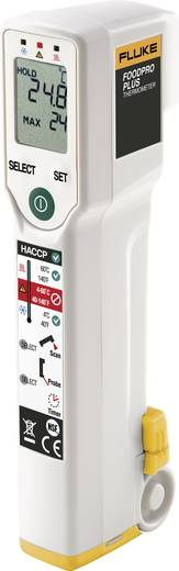 Fluke FoodPro Plus Infrarot-Thermometer Optik 2.5:1 -35 bis +275 °C Kalibriert nach: ISO