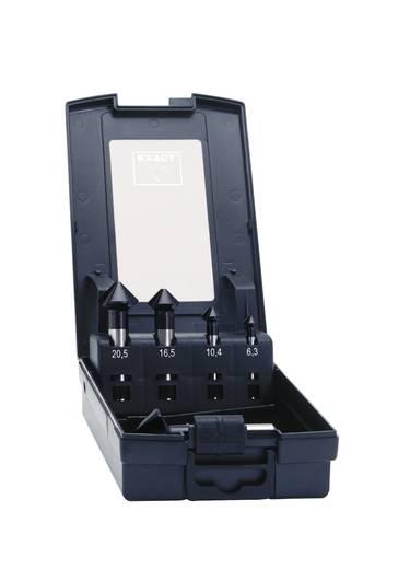 Kegelsenker-Set 5teilig 6.3 mm, 10.4 mm, 16.5 mm, 20.5 mm, 25 mm HSS TiAIN Exact 50253 Zylinderschaft 1 Set