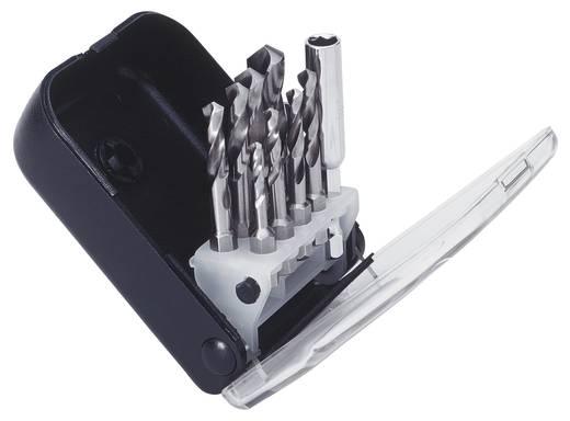 HSS Metall-Spiralbohrer-Set 10teilig 2.5 mm, 3.3 mm, 4.2 mm, 5 mm, 6 mm, 6.8 mm, 8.5 mm, 10.2 mm Exact 50907 DIN 3126