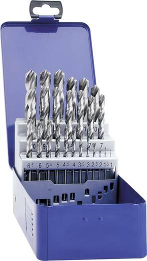HSS Metall-Spiralbohrer-Set 25teilig Exact 32004 geschliffen DIN 338 Zylinderschaft 1 Set
