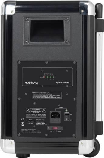 Renkforce Hybrid Driver Mobiler Lautsprecher 20 cm 8 Zoll akkubetrieben 1 St.