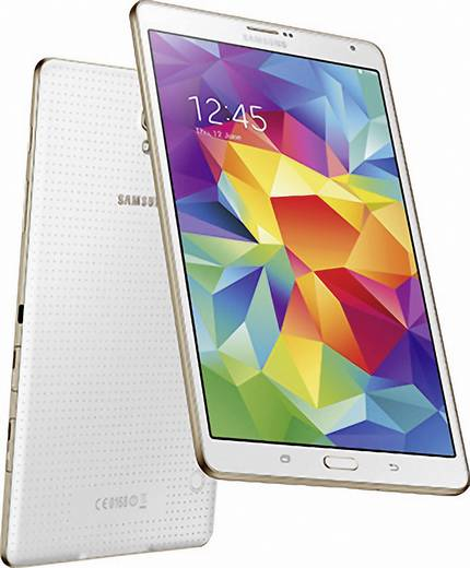 samsung galaxy tab s android tablet 21 3 cm 8 4 zoll 16 gb wi fi wei 3 2 ghz octa core. Black Bedroom Furniture Sets. Home Design Ideas