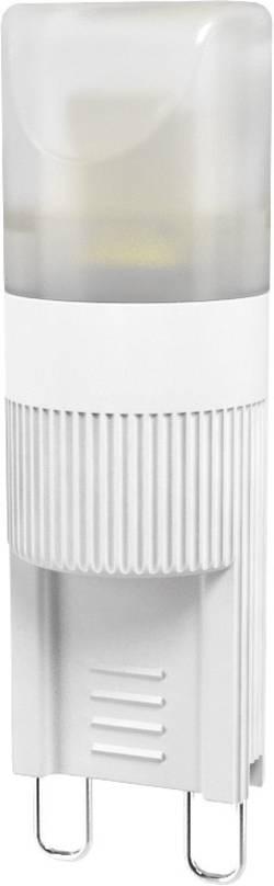 Ampoule LED G9 LightMe LM85211 à broches 2 W=11 W blanc chaud (Ø x L) 14 mm x 47 mm EEC: classe A+ 1 pc(s)