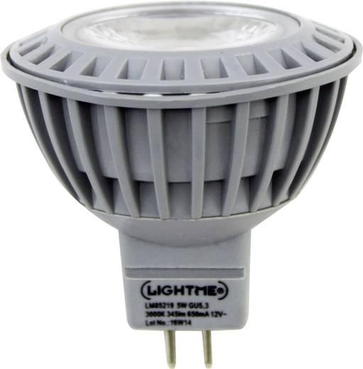 LED GU5.3 Reflektor 5 W = 28 W Warmweiß (Ø x L) 50 mm x 45 mm EEK: A+ LightMe 1 St.