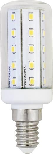 LightMe LED E14 Kolbenform 4 W = 35 W Warmweiß (Ø x L) 30 mm x 89 mm EEK: A++ 1 St.