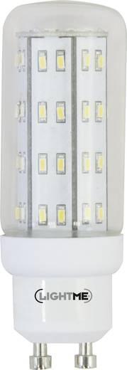 LightMe LED GU10 Kolbenform 4 W = 35 W Warmweiß (Ø x L) 29 mm x 82 mm EEK: A++ 1 St.