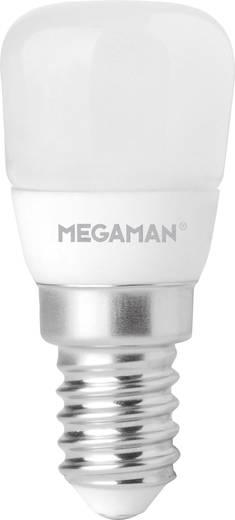 LED E14 Kolbenform 2 W = 11 W Warmweiß (Ø x L) 26 mm x 57 mm EEK: A+ Megaman dimmbar 1 St.
