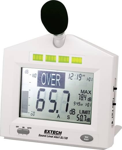 Extech SL130W Schallpegel-Messgerät, Lärm-Messgerät 31.5 - 8000 Hz Kalibriert nach ISO