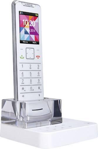 Cordless Analogue Motorola IT.6.1T Weiss Designer Phone, Ultra Slim, ...