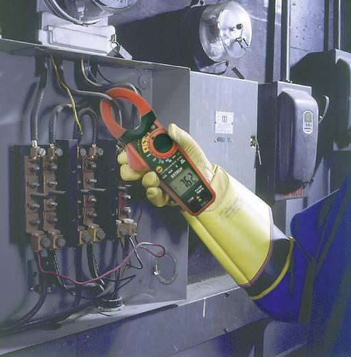 Stromzange, Hand-Multimeter digital Extech EX730 Kalibriert nach: Werksstandard (ohne Zertifikat) CAT III 600 V Anzeige