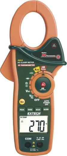 Stromzange, Hand-Multimeter digital Extech EX810 Kalibriert nach: ISO IR-Thermometer CAT III 600 V Anzeige (Counts): 400