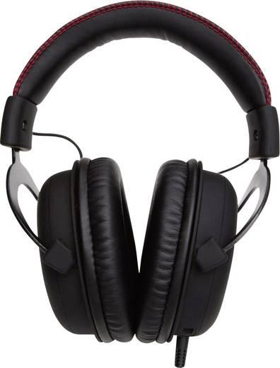 HyperX Cloud Gaming Headset schnurgebunden Over Ear Schwarz/Rot