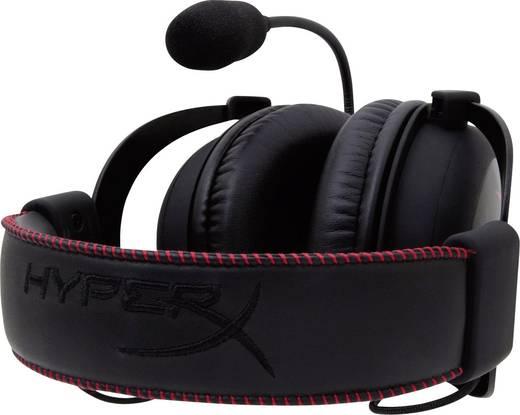 Gaming Headset schnurgebunden HyperX Cloud Over Ear Schwarz/Rot