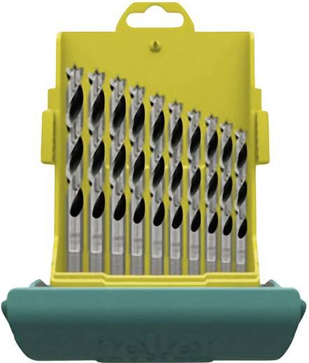 Holz-Spiralbohrer-Set 10teilig Heller 28708 1 Zylinderschaft 1 Set