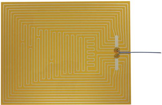 Thermo Polyester Heizfolie selbstklebend 12 V/DC, 12 V/AC 50 W Schutzart IPX4 (L x B) 500 mm x 400 mm