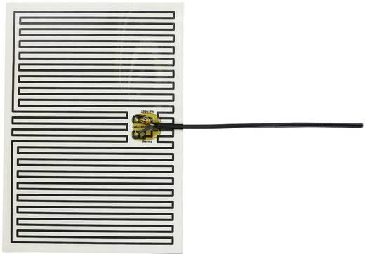 Thermo Polyester Heizfolie selbstklebend 230 V/AC 7 W Schutzart IPX4 (L x B) 250 mm x 180 mm
