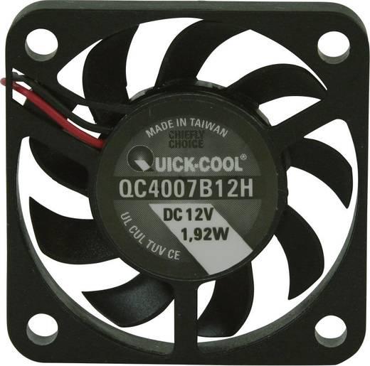 Axiallüfter 12 V/DC 10.82 m³/h (L x B x H) 40 x 40 x 7 mm QuickCool QC4007B12H