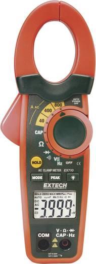 Stromzange, Hand-Multimeter digital Extech EX710 Kalibriert nach: DAkkS CAT III 600 V Anzeige (Counts): 4000