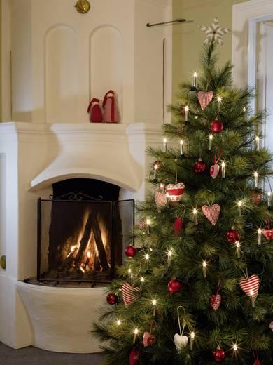 Weihnachtsbaum-Beleuchtung 40 Glühlampe Beleuchtete Länge: 11.7 m Konstsmide 2336-900
