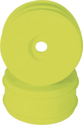 XciteRC 1:8 Buggy Felgen offroad Disk Neon-Gelb 2 St.