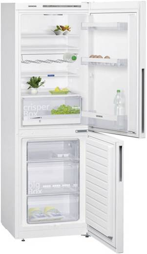 Kühl-Gefrier-Kombination 288 l Siemens KG33VVW31 iQ300 EEK A++ Weiß