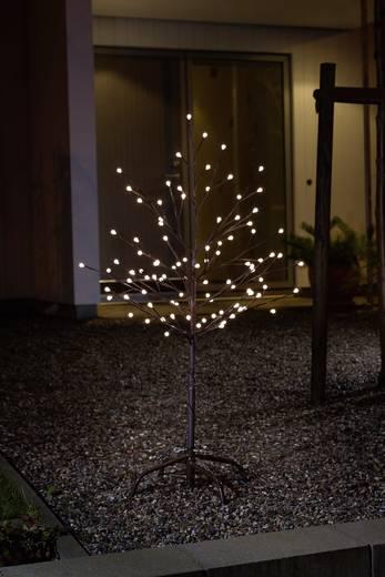 LED-Baum 100 cm Warm-Weiß Konstsmide 3377-600 3377-600 Braun