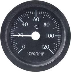Thermomètre à capillaire à encastrer 0 Jusqu'à +120 °C Ø 52 mm