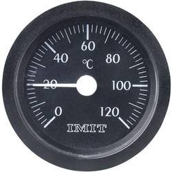 Velký teploměr s integrovanou kapilárou IMIT, 0 až 120 °C
