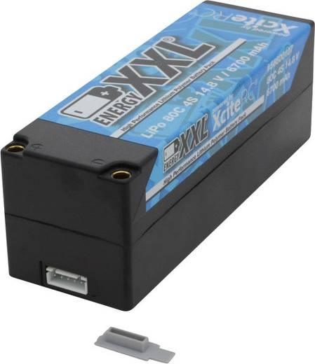 Modellbau-Akkupack (LiPo) 14.8 V 6700 mAh XciteRC Hardcase