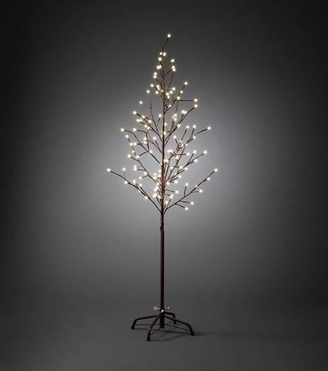 LED-Baum 150 cm EEK: A (A++ - E) Warm-Weiß Konstsmide 3378-600 3378-600 Braun