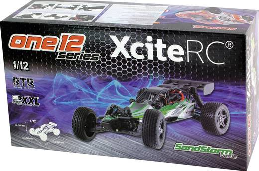 XciteRC SandStorm one12 Brushed 1:12 RC Modellauto Elektro Buggy Heckantrieb RtR 2,4 GHz