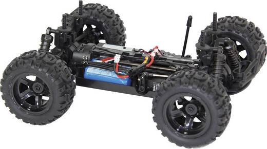 XciteRC Monster Truck one16 MT Brushed 1:16 RC Modellauto Elektro Monstertruck Allradantrieb RtR 2,4 GHz