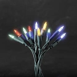 Vnitřní světelný řetěz Konstsmide 6304-520, 100 LED, 16,35 m, do sítě, barevný