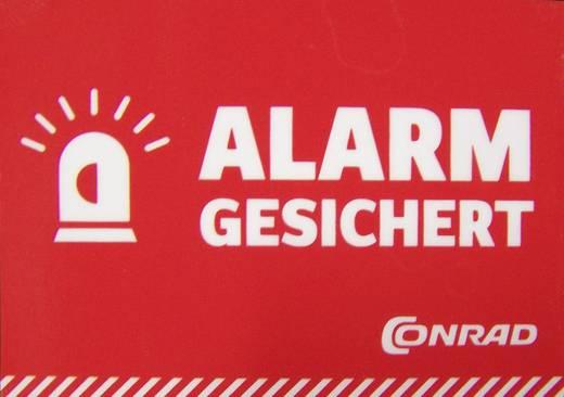 Warnaufkleber Alarm gesichert Sprachen Deutsch (B x H) 70 mm x 49 mm 1217215