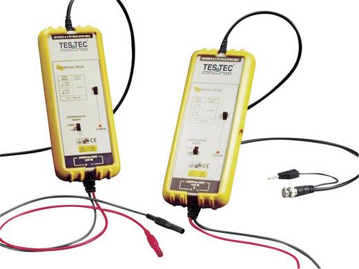 Differential-Tastkopf 25 MHz 10:1, 100:1 1400 V Testec TT-SI 9001