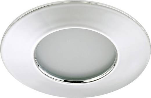 LED-Bad-Einbauleuchte 5 W Warm-Weiß Briloner 7204-018 Chrom