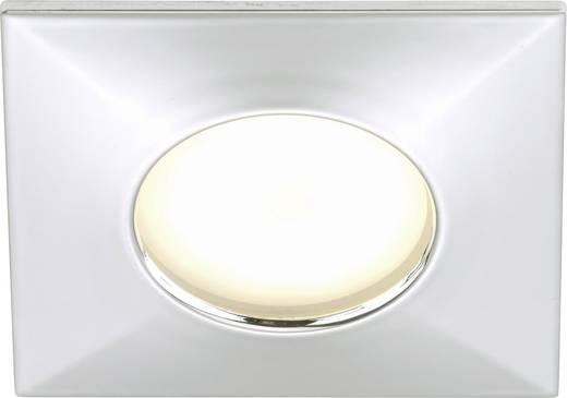 LED-Bad-Einbauleuchte 5 W Warm-Weiß Briloner 7205-018 Chrom
