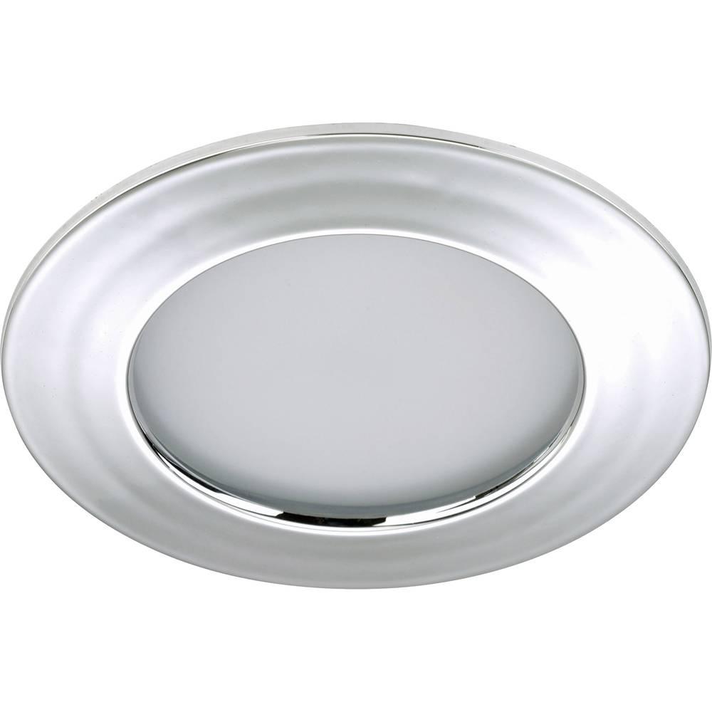 Led bathroom recessed light 10 5 w warm white briloner for Number of recessed lights per room