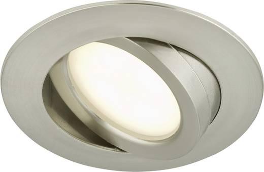 Briloner 7209-012 LED-Einbauleuchte 5 W Warm-Weiß Nickel (matt)